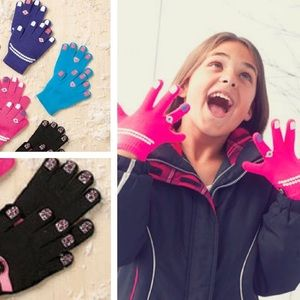 NWT! Girls Diva Gloves - Whimsical Gift Idea